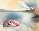 Making Waves – 2011 – Hybrid on Canvas – 36″H x 48″W